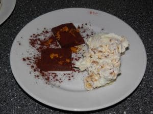 Chokoladetrøffel med appelsinkaramel