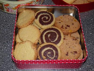 Basisdej til 3 slags småkager
