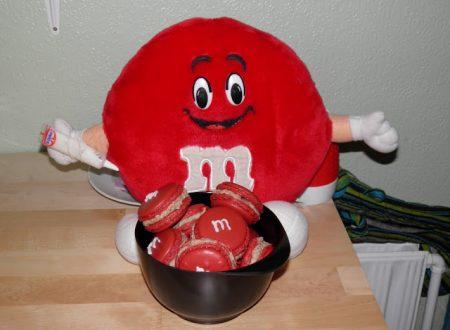 Macarons med M&M's