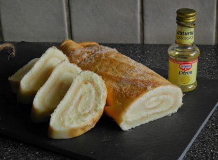 Glutenfri citron roulade