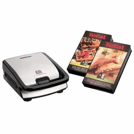 tefal-snack-collection-inkl-2-plader-2-i-1-toaster-og-vaffeljern