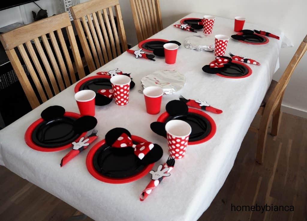 Mickey og Minnie Mouse Temafest