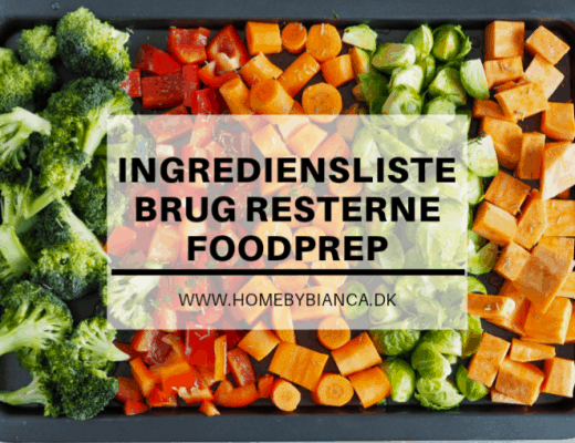 Foodprep - ingrediensliste